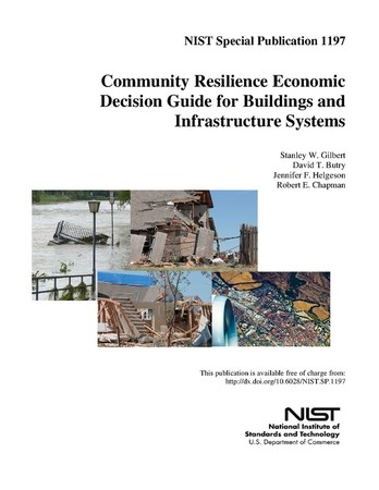 Community Resilience Economic Decision Guide for Buildings and Infrastructure Systems